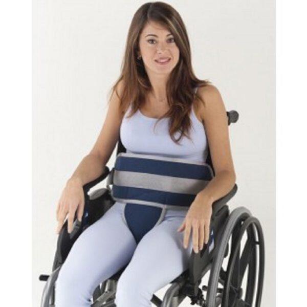 calvarro cinturón de sujeción a silla con pieza perineal