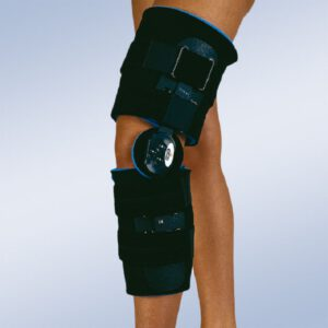 calvarro órtesis de rodilla con articulación