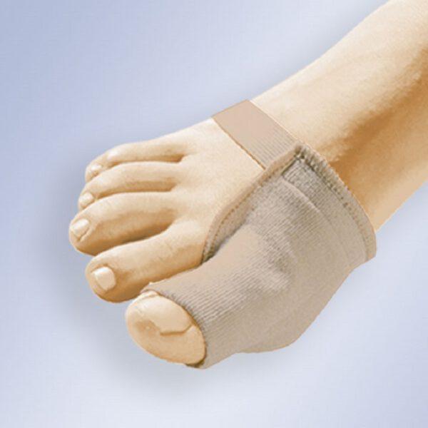 calvarro protector de juanete gel tejido