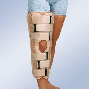 calvarro ortesis inmovilizadora de rodilla