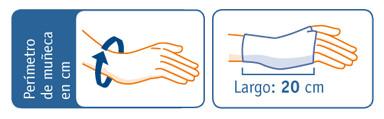 calvarro-muñequera-elástica-abierta-larga-férula-dimensiones